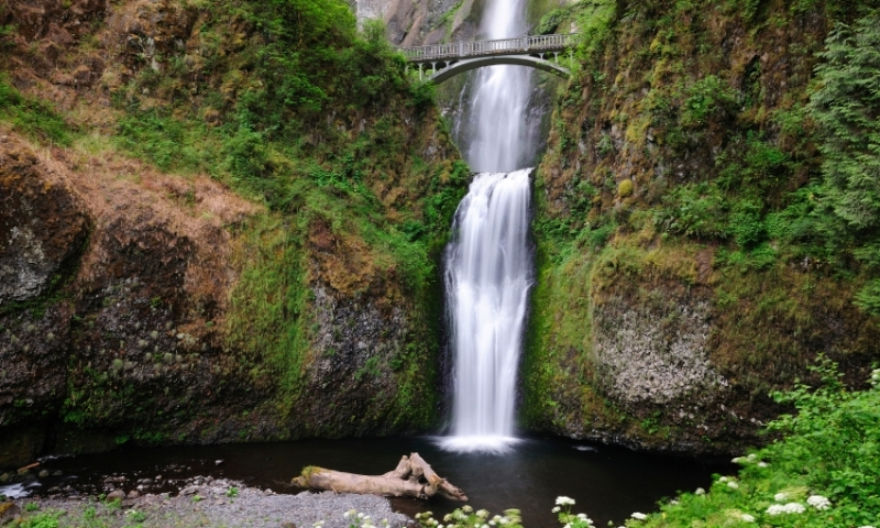 Multnomah Falls Oregon Winter Wallpaper Multnomah Falls Oregon Alltrips