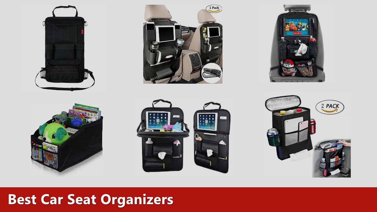Auto Organizer Tablet The 10 Best Car Seat Organizers Of 2019