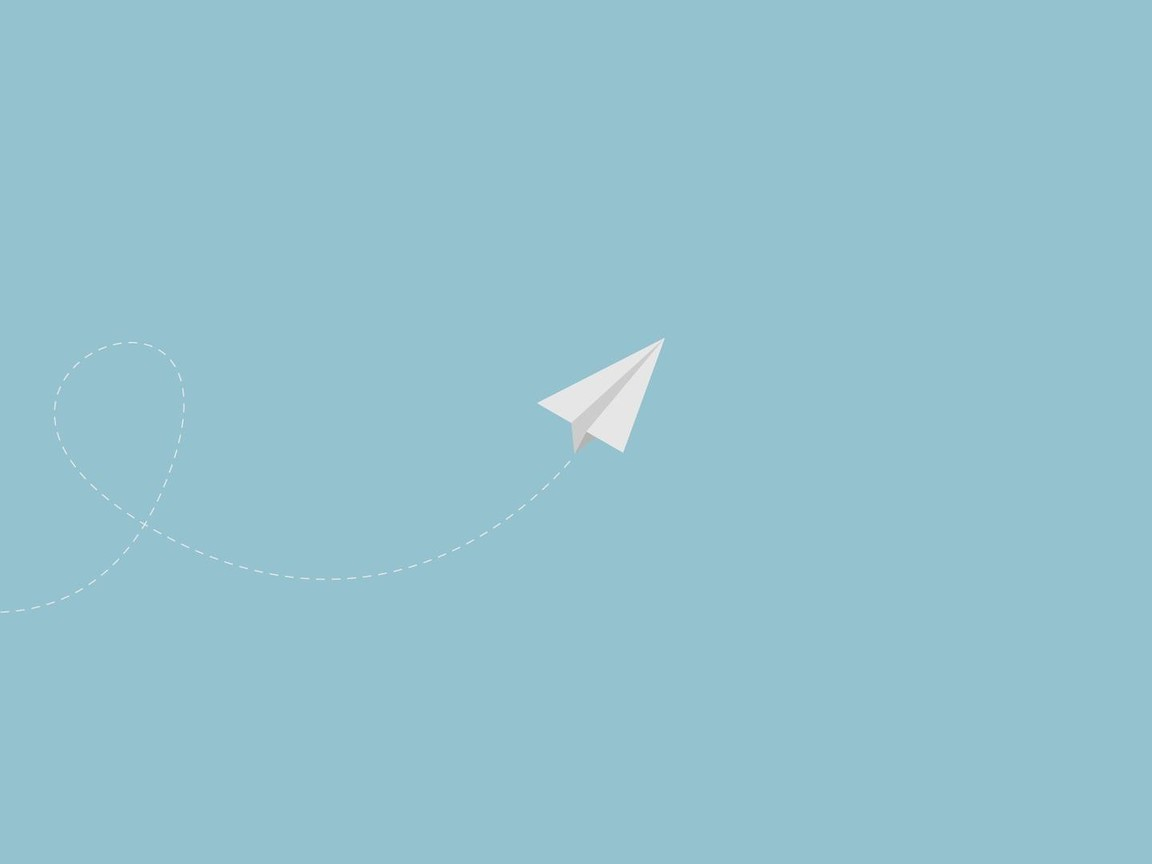 I Want To Download Cute Wallpapers Minimalistic Flying Paper Plane Wallpaper Allwallpaper