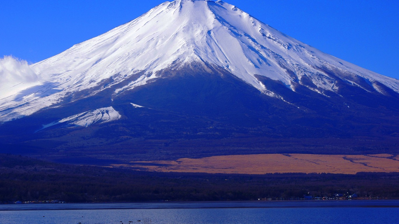 Mount Fuji Wallpaper Iphone Mountains Landscapes Nature Snow Mount Fuji Wallpaper
