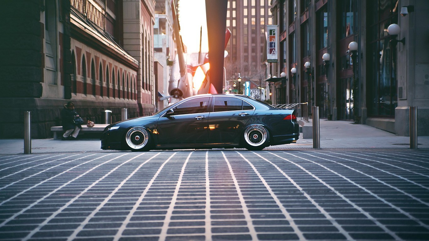 Retro Car Home Wallpaper Cars Tuning Honda Accord Stance Wallpaper Allwallpaper
