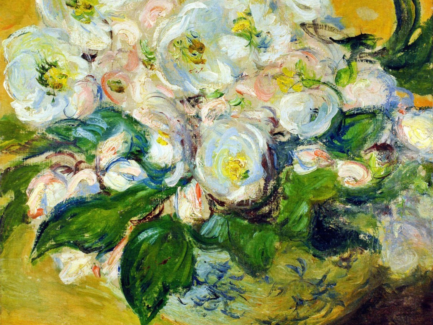 Monet Iphone Wallpaper Background Claude Monet White Still Life Impressionism