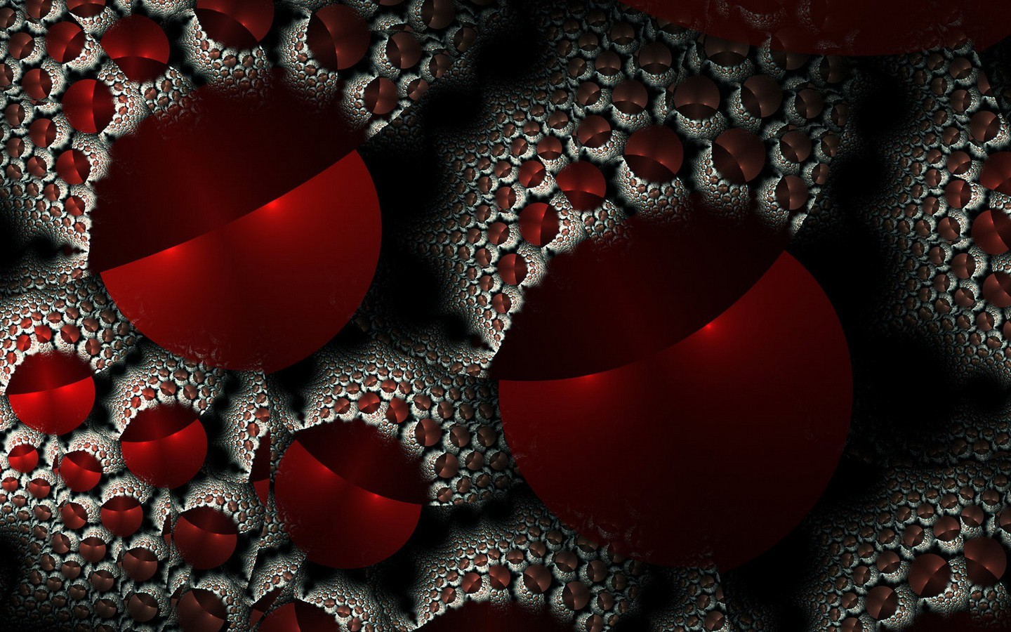 Thunderstorm Wallpaper 3d Abstract Red Fractals Fractal Wallpaper Allwallpaper In