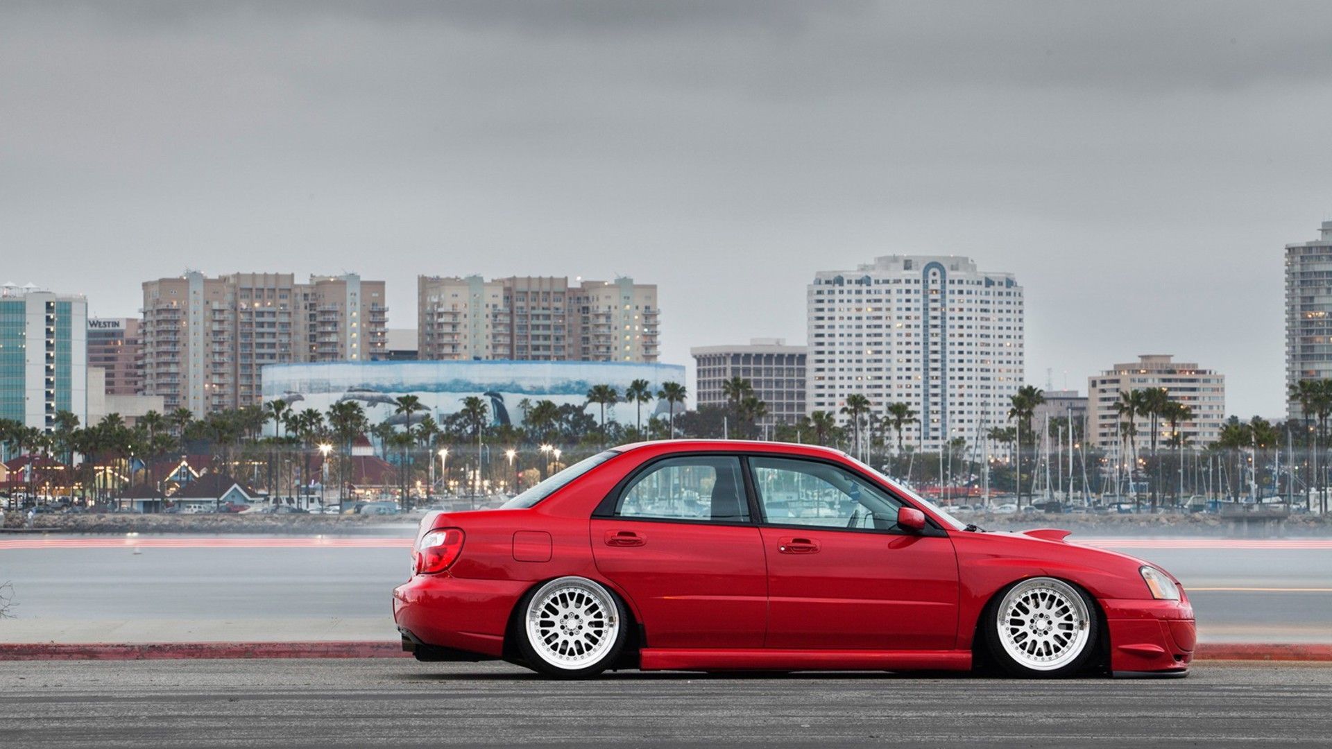 Stanced Car Iphone Wallpaper Cars Tuning Subaru Impreza Slammed Wallpaper