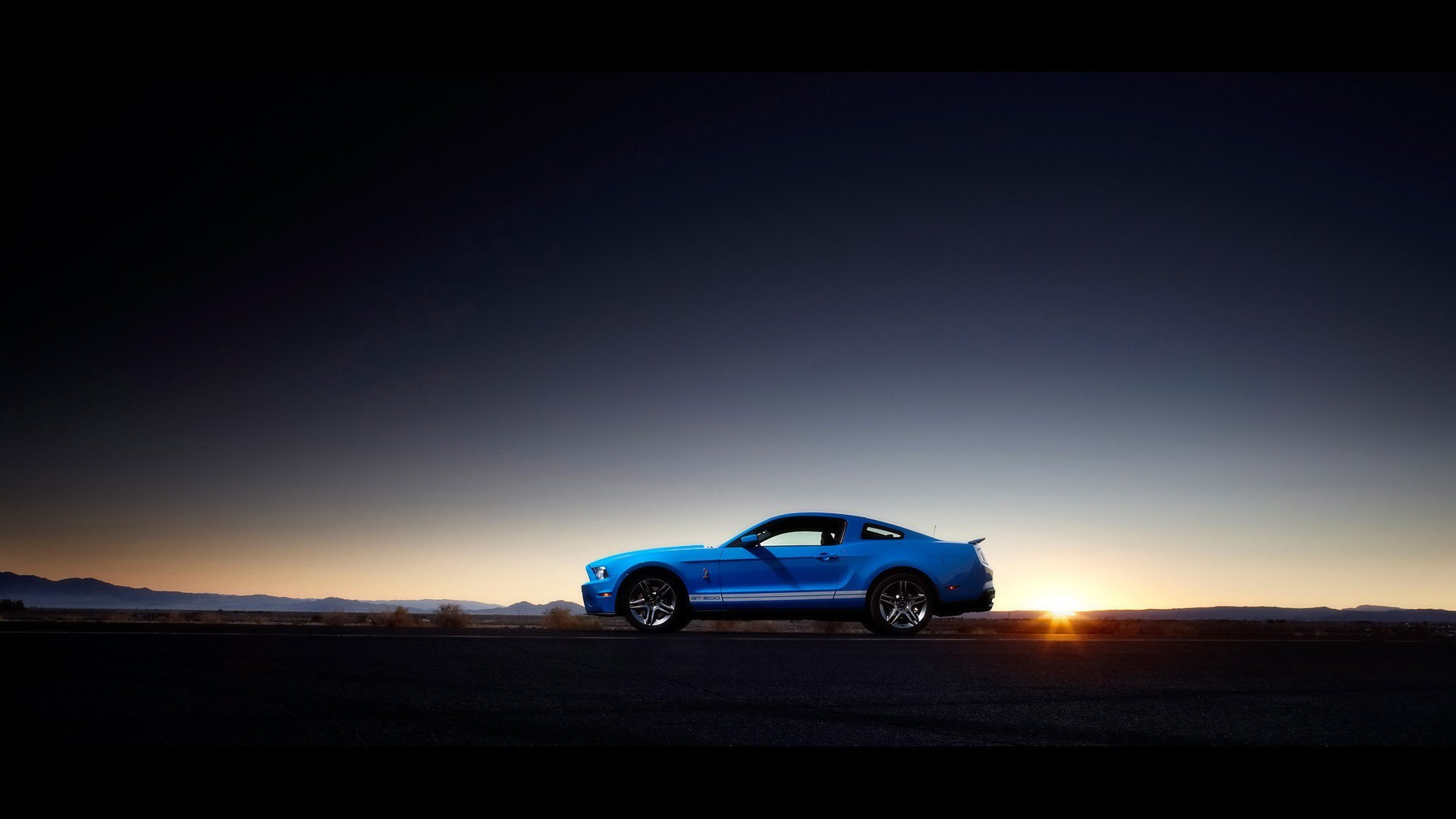 Muscle Car Iphone Wallpaper Ford Mustang Shelby Gt500 Muscle Cars Sunset Wallpaper