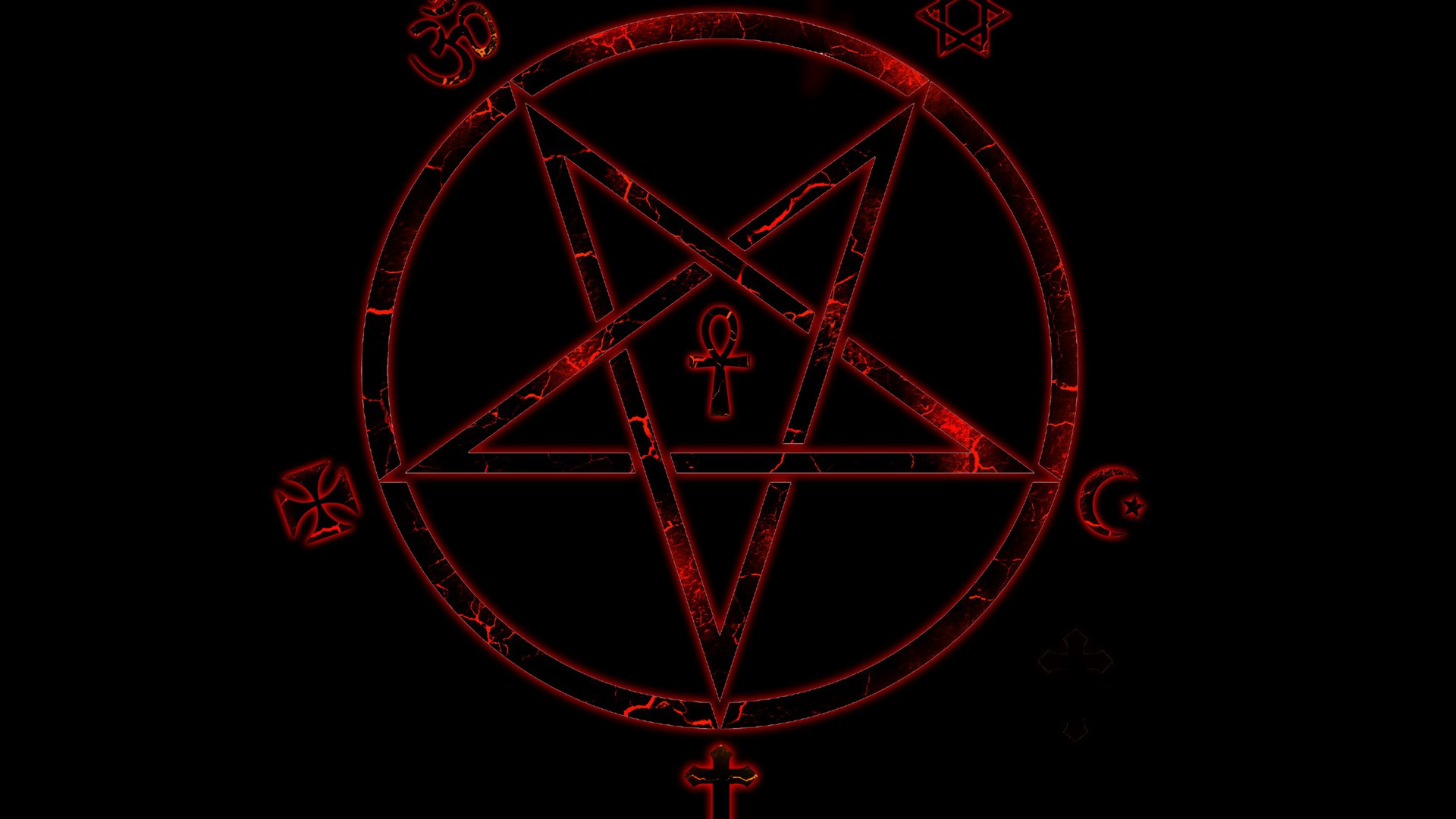 Satanic Iphone Wallpaper Pentagram Wallpaper Allwallpaper In 8628 Pc En