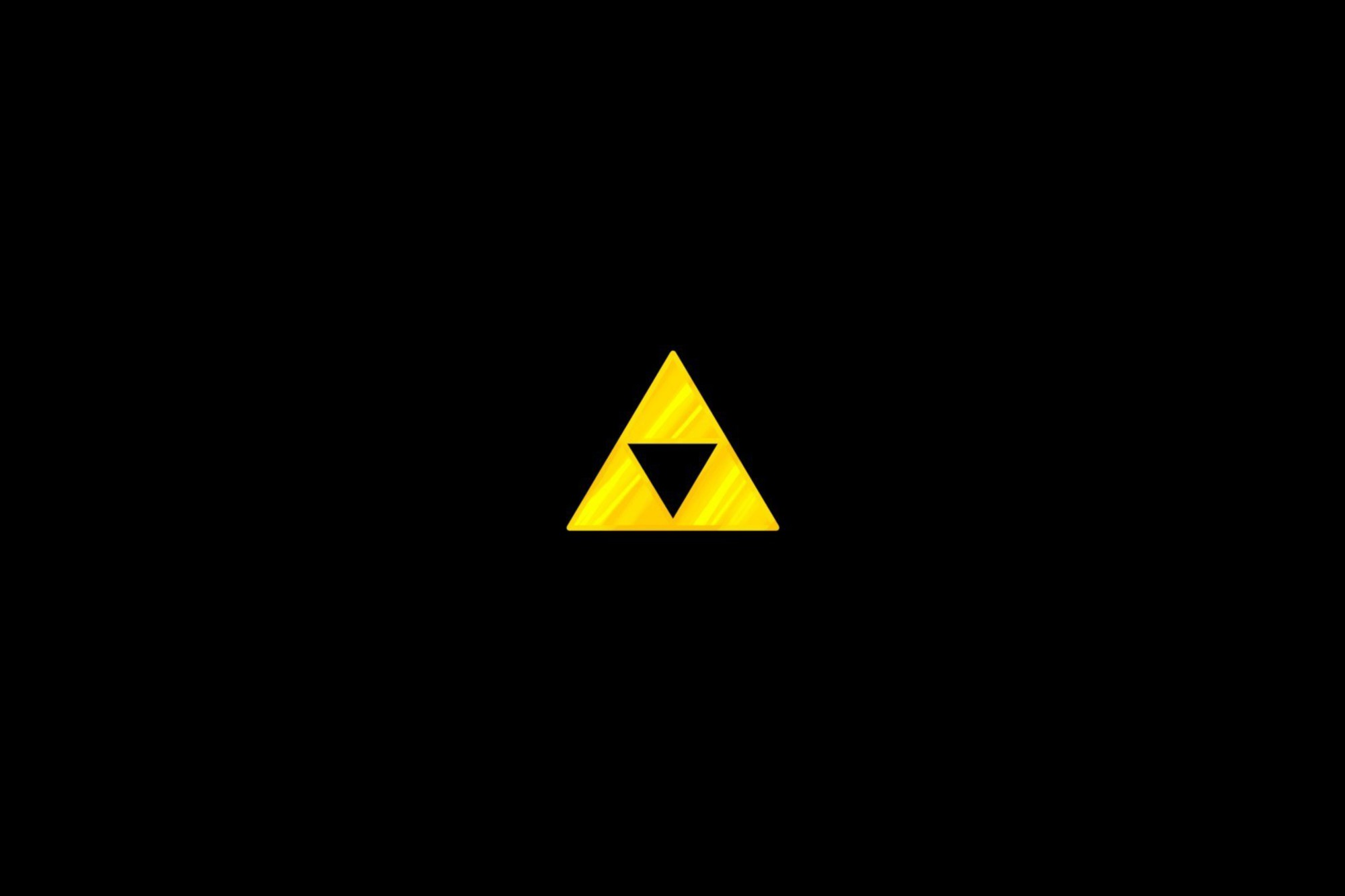 The Legend Of Zelda Wallpaper Hd The Legend Of Zelda Black Background Simple Triforce