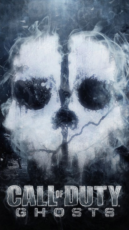 Cod Zombies Iphone Wallpaper Call Of Duty Ghosts Logo Wallpaper Allwallpaper In