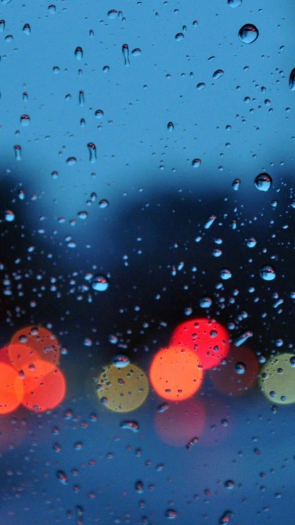 Minimalist Cute Desktop Wallpaper Bokeh Glass Rain Water Drops Wallpaper Allwallpaper In