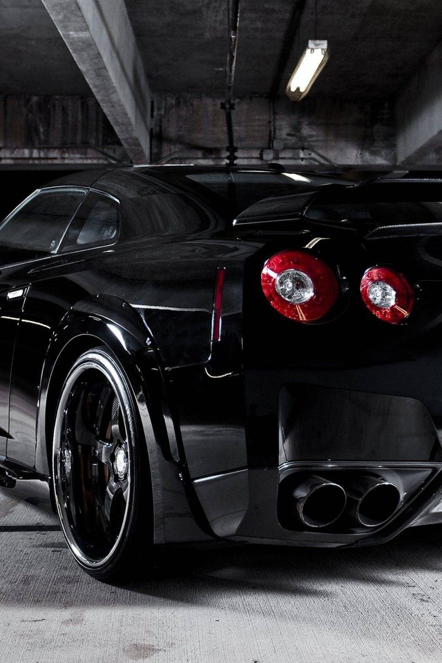 Hd Jdm Car Wallpapers Nissan Gtr R35 Black Cars Wallpaper Allwallpaper In