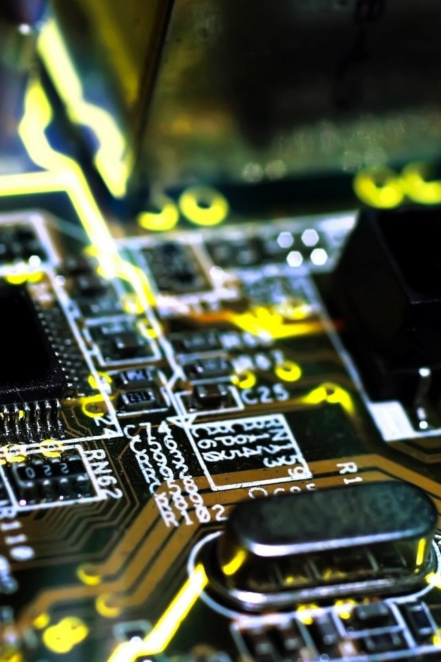 Best 3d Wallpapers For Iphone 5 Chips Electronic Circuit Boards Wallpaper Allwallpaper