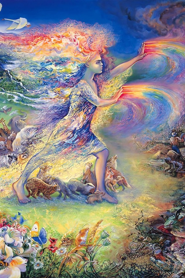 Best Dark Wallpapers For Iphone X Fantasy Paintings Art Dreams Josephine Wall Mystical