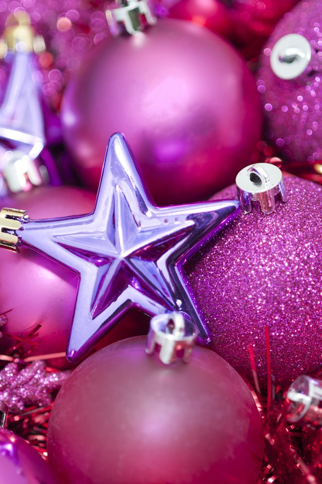 Xmas Wallpaper Iphone Pink Christmas Still Life Wallpaper Allwallpaper In