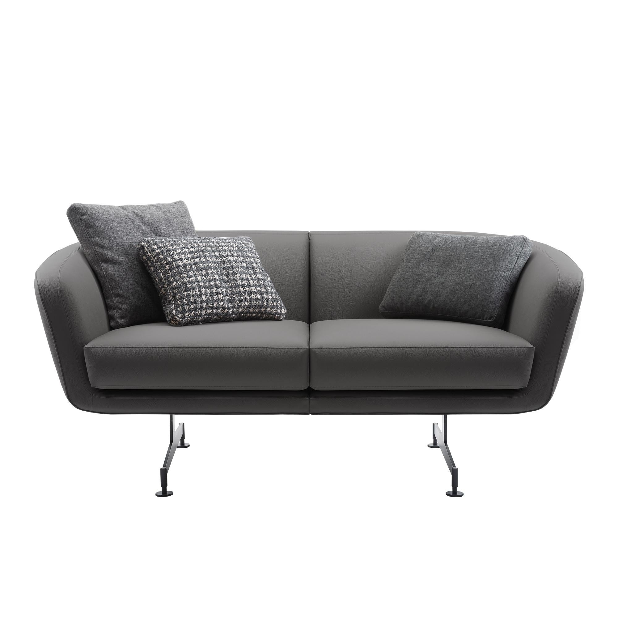 Kartell Betty 2 Seater Sofa Leather Ambientedirect