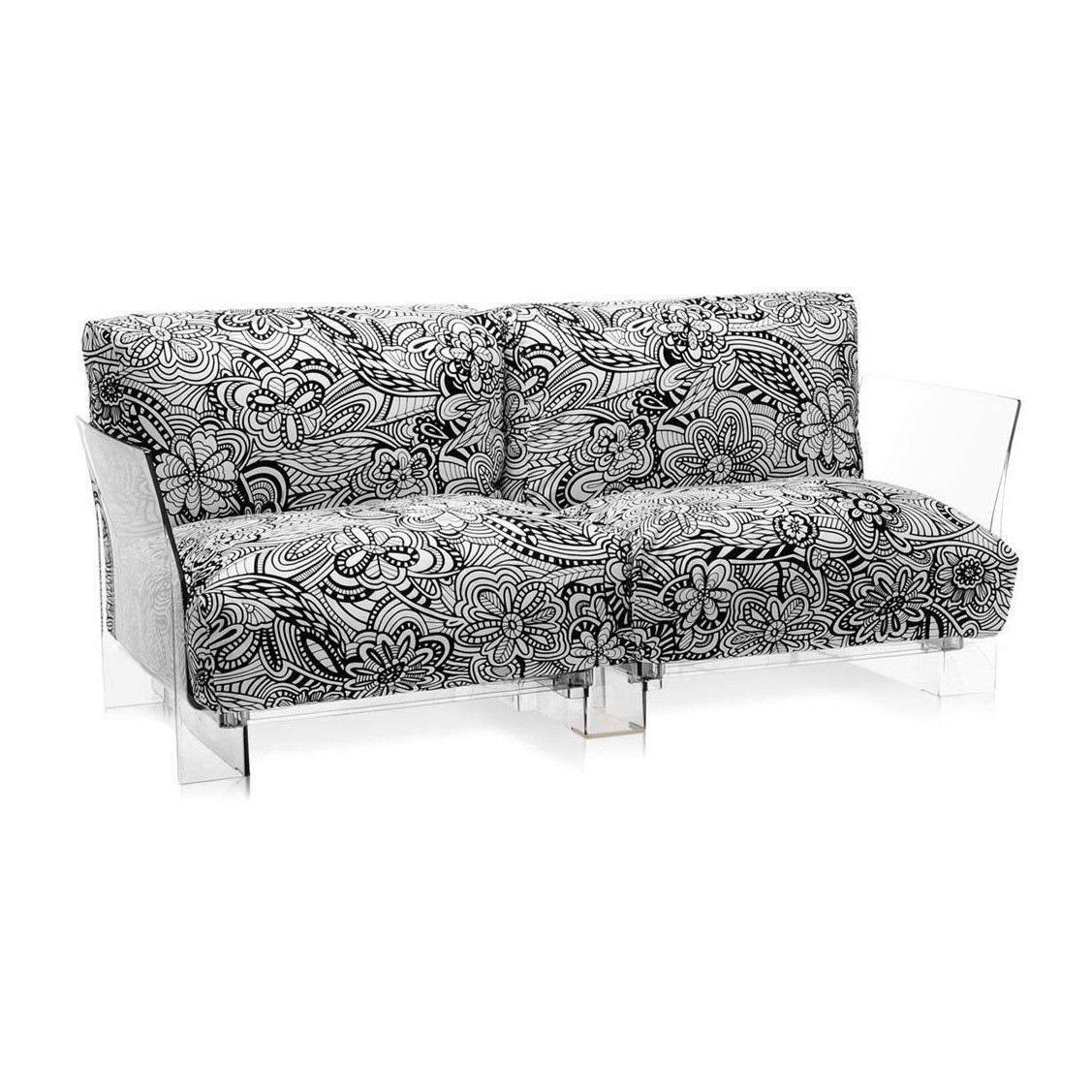 Kartell Sofa Pop Missoni Two Seater