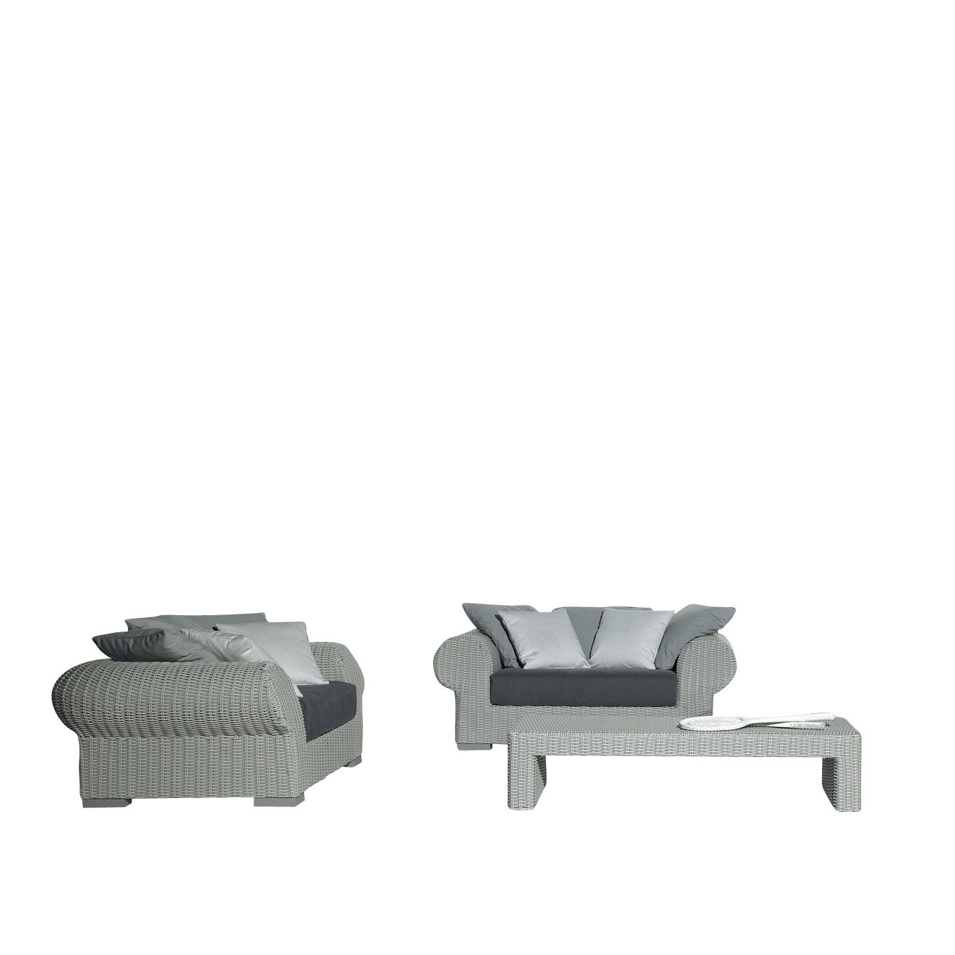 Outdoor Sofa Rattan Inout 601 Poly Rattan Outdoor Sofa