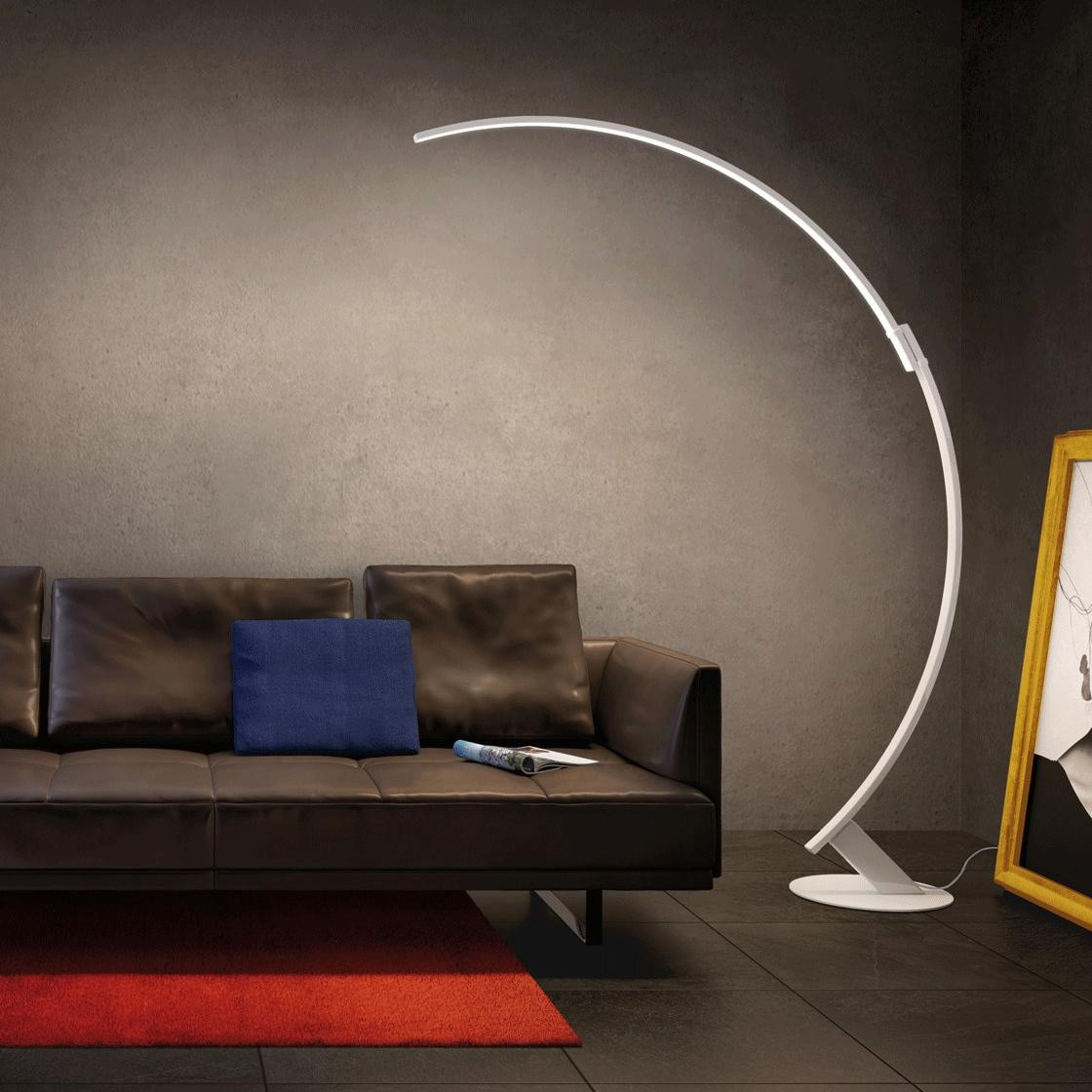 Bogenlampe Costanza Kyudo Led Floor Lamp