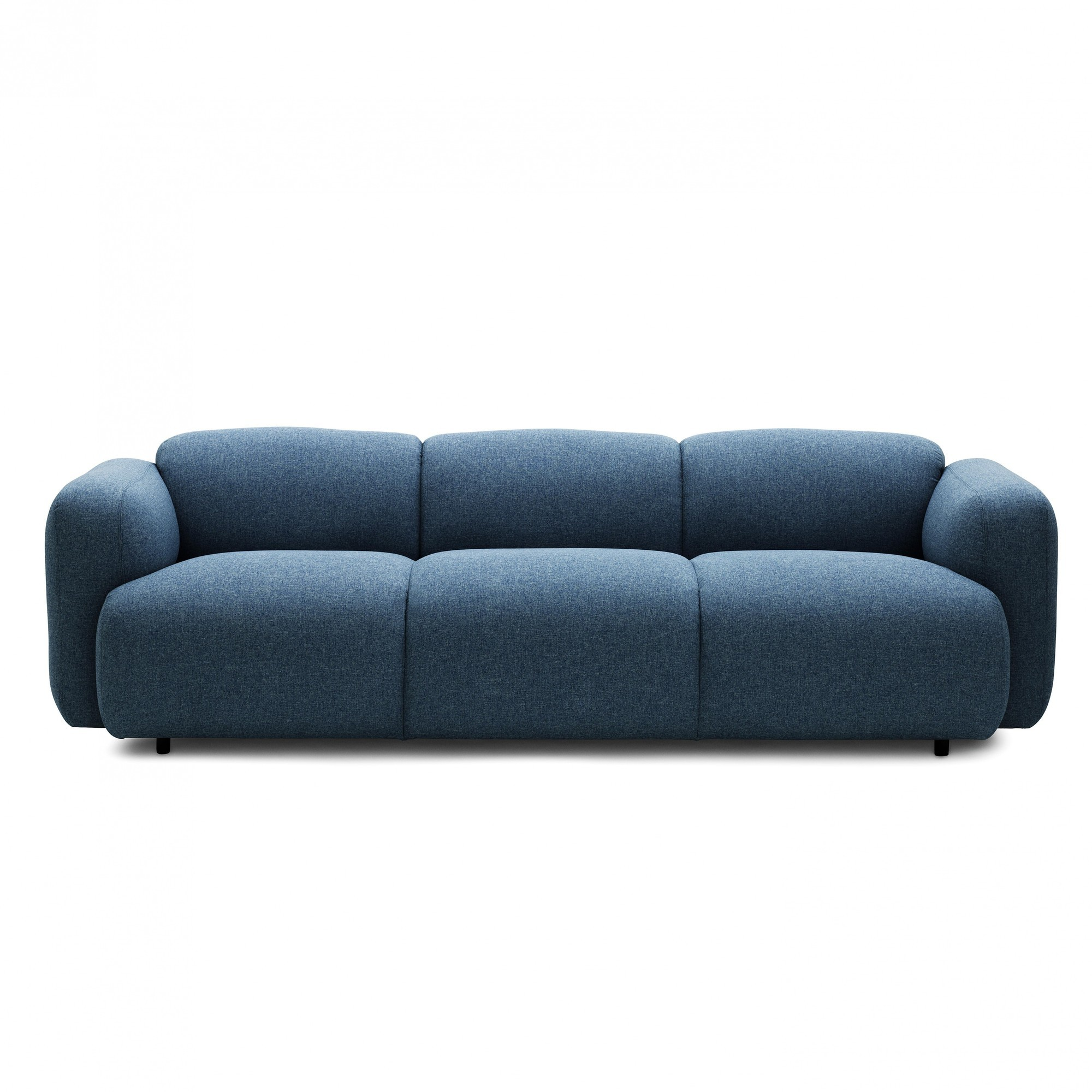 Big Sofa Petrol Swell Sofa 3 Seater