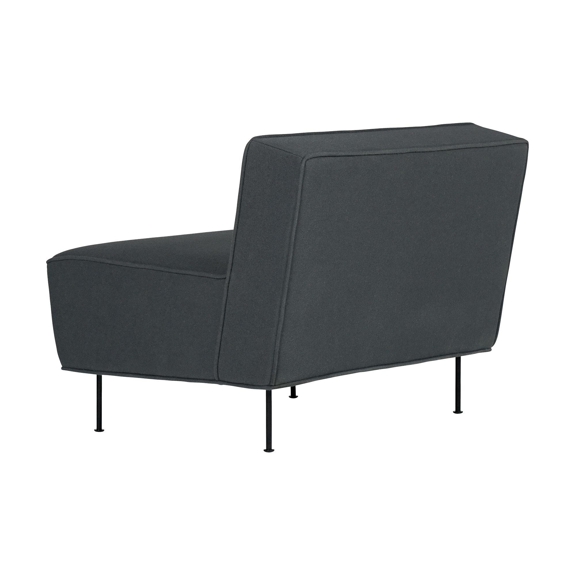 Lounge Sessel Modern Gubi Modern Line Lounge Sessel Ambientedirect