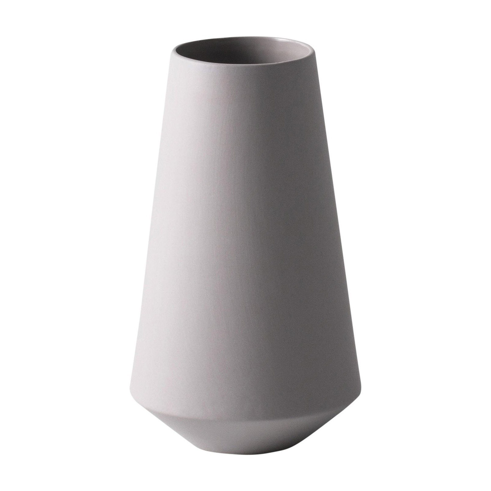 Vase Grau Sculpt Well Vase