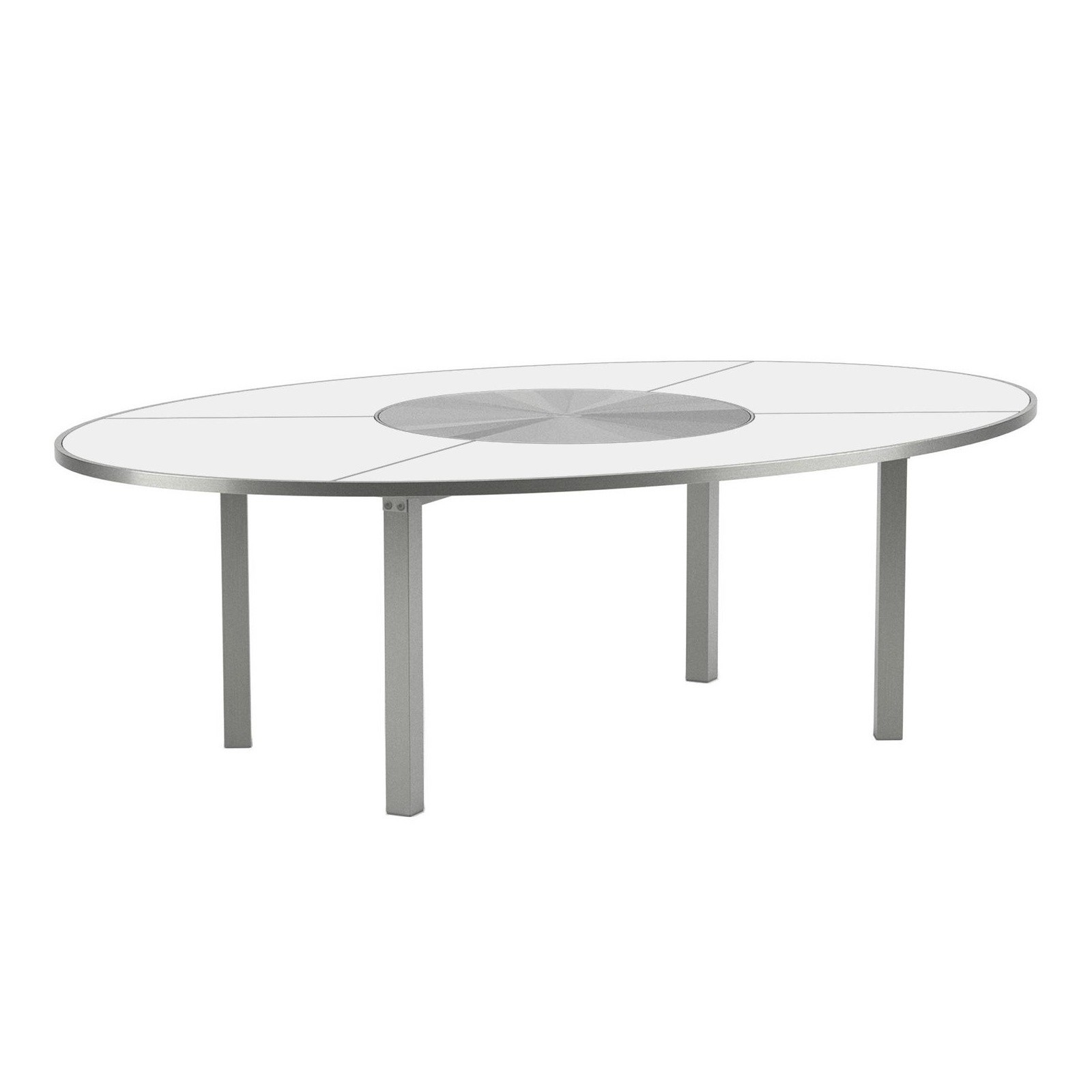 Gartentisch Oval O Zon Garden Table Oval Ø240 Stainless Steel