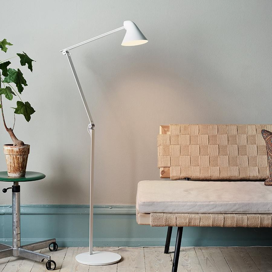 Louis Poulsen Njp Led Floor Lamp Ambientedirect