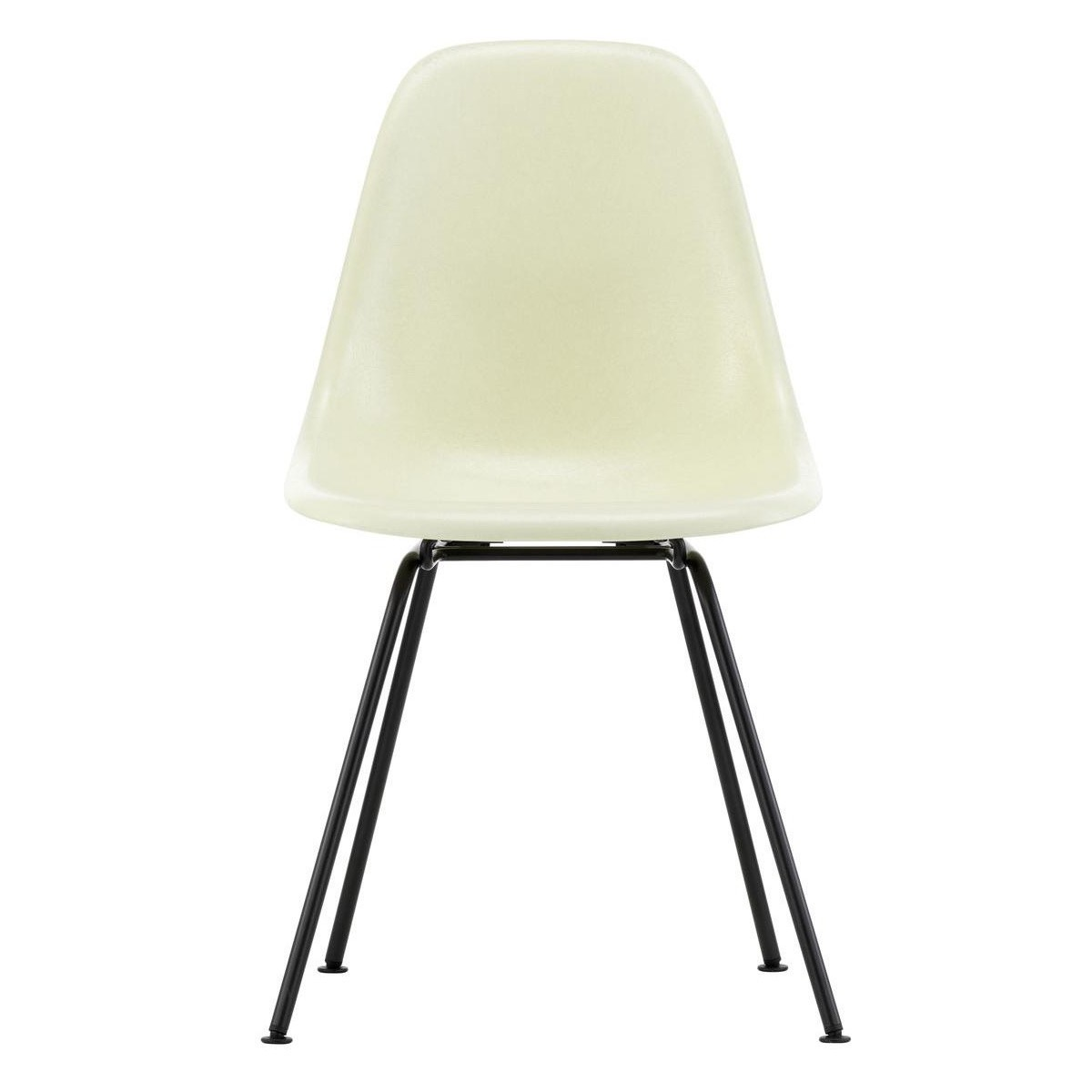 Eames Chair Beige Eames Fiberglass Side Chair Dsx Black Base