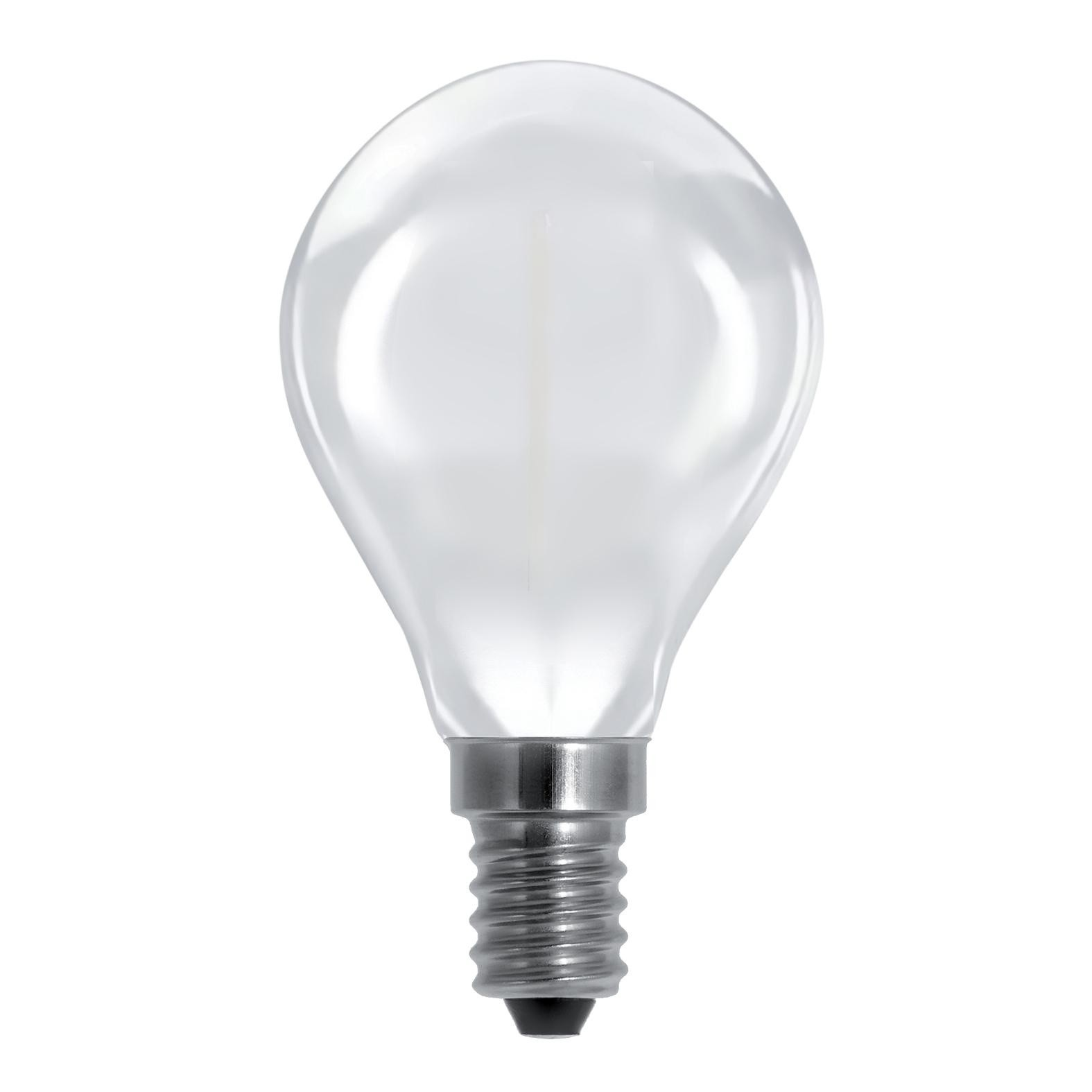 Led Dimmbar E14 Led E14 Drop Frosted 3 5w 25w