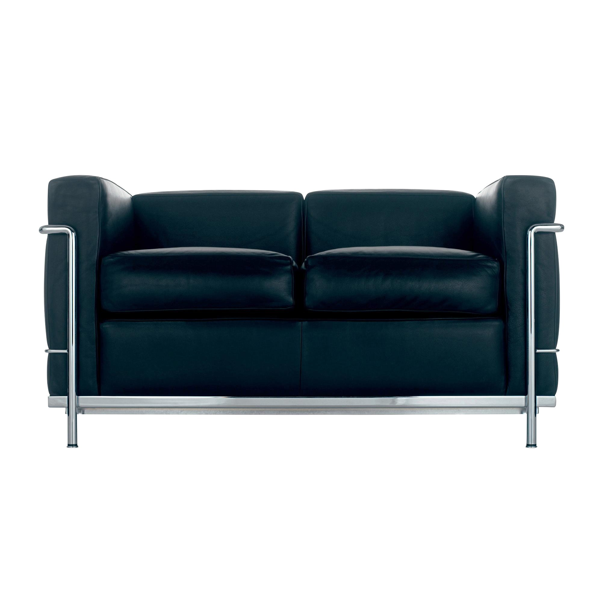 Canape Sofa Le Corbusier Lc2 Sofa Two Seater