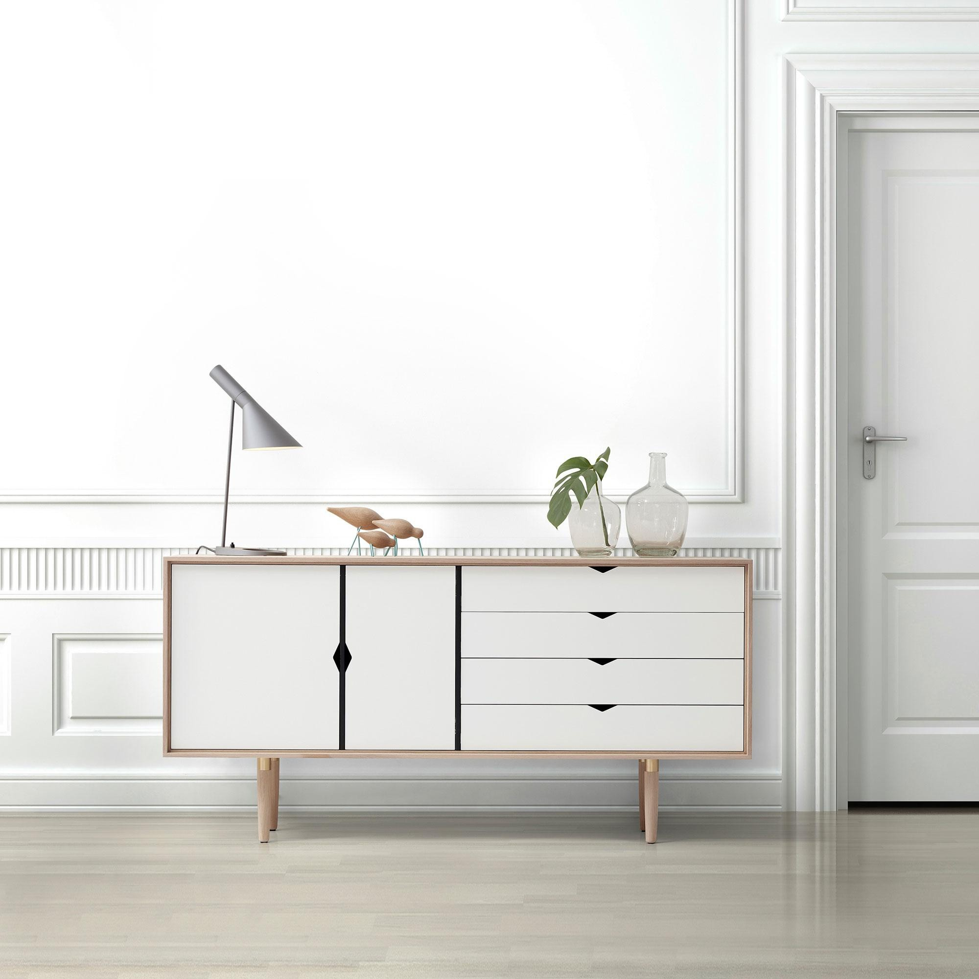 Andersen Furniture S6 Sideboard White Fronts Ambientedirect