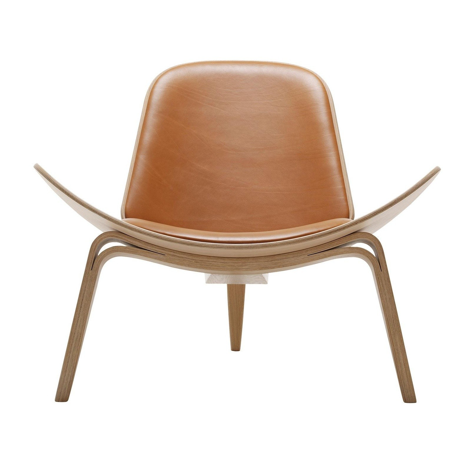 Sessel Cognac Carl Hansen Ch07 Shell Chair Lounge Chair