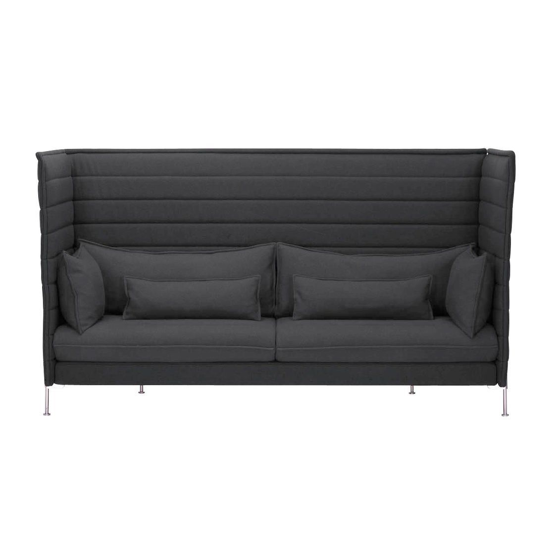 Alcove Highback Sofa Alcove Highback 3 Sitzer Sofa Vitra Ambientedirect