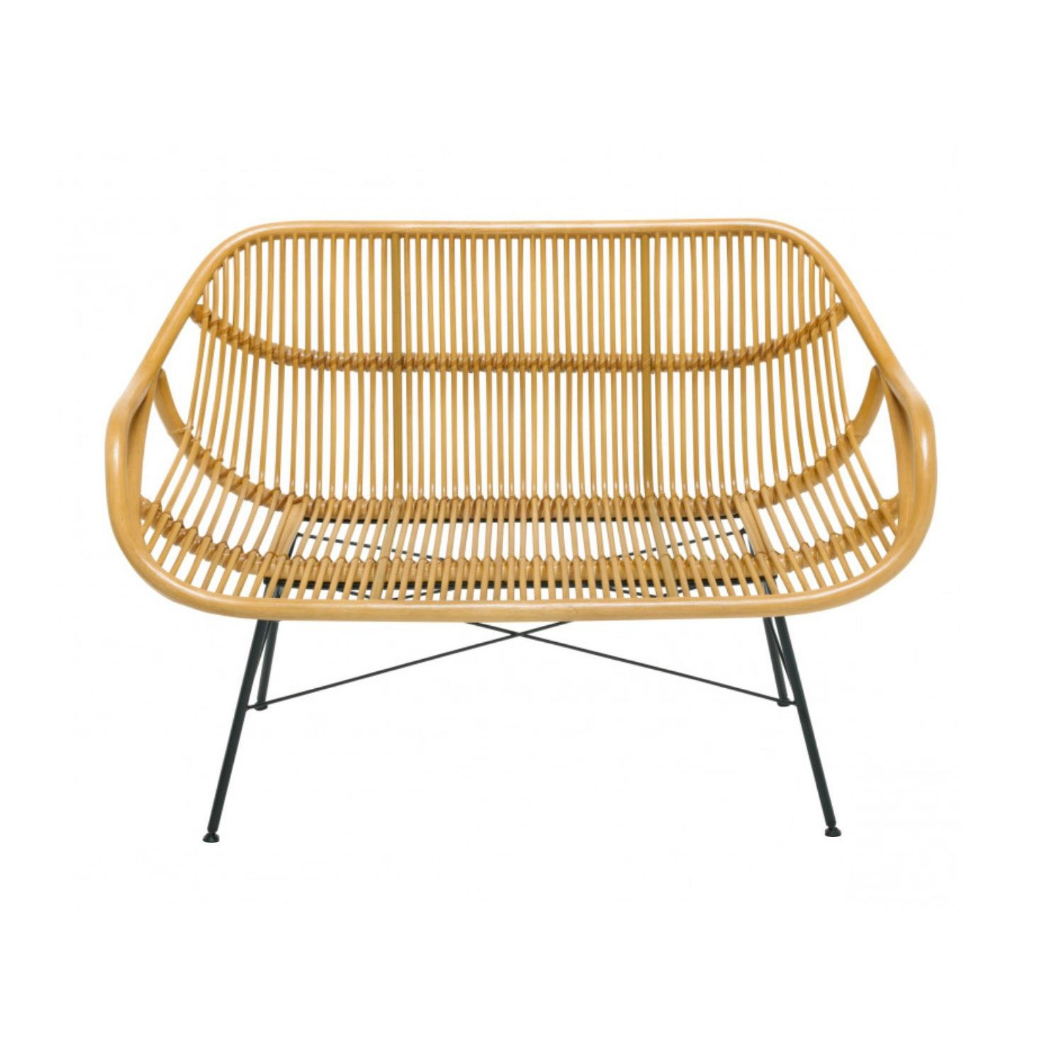 Bank Rattan Yara 2 Seater Bench