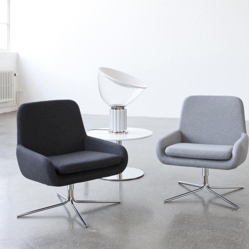 Drehsessel Rose Softline Coco - Fauteuil Pivotant | Ambientedirect