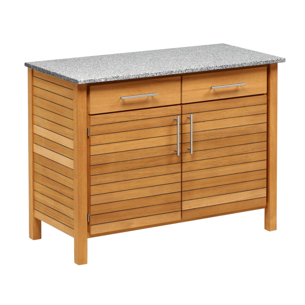 Rückwand Schrank Material Deck Outdoorkitchen Double Board