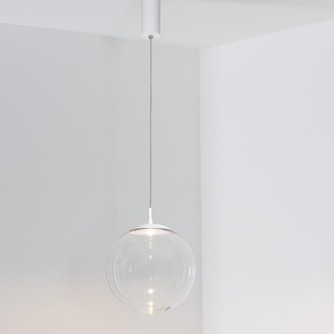 Led Esstischlampe Glaskugelleuchte Led Suspension Lamp