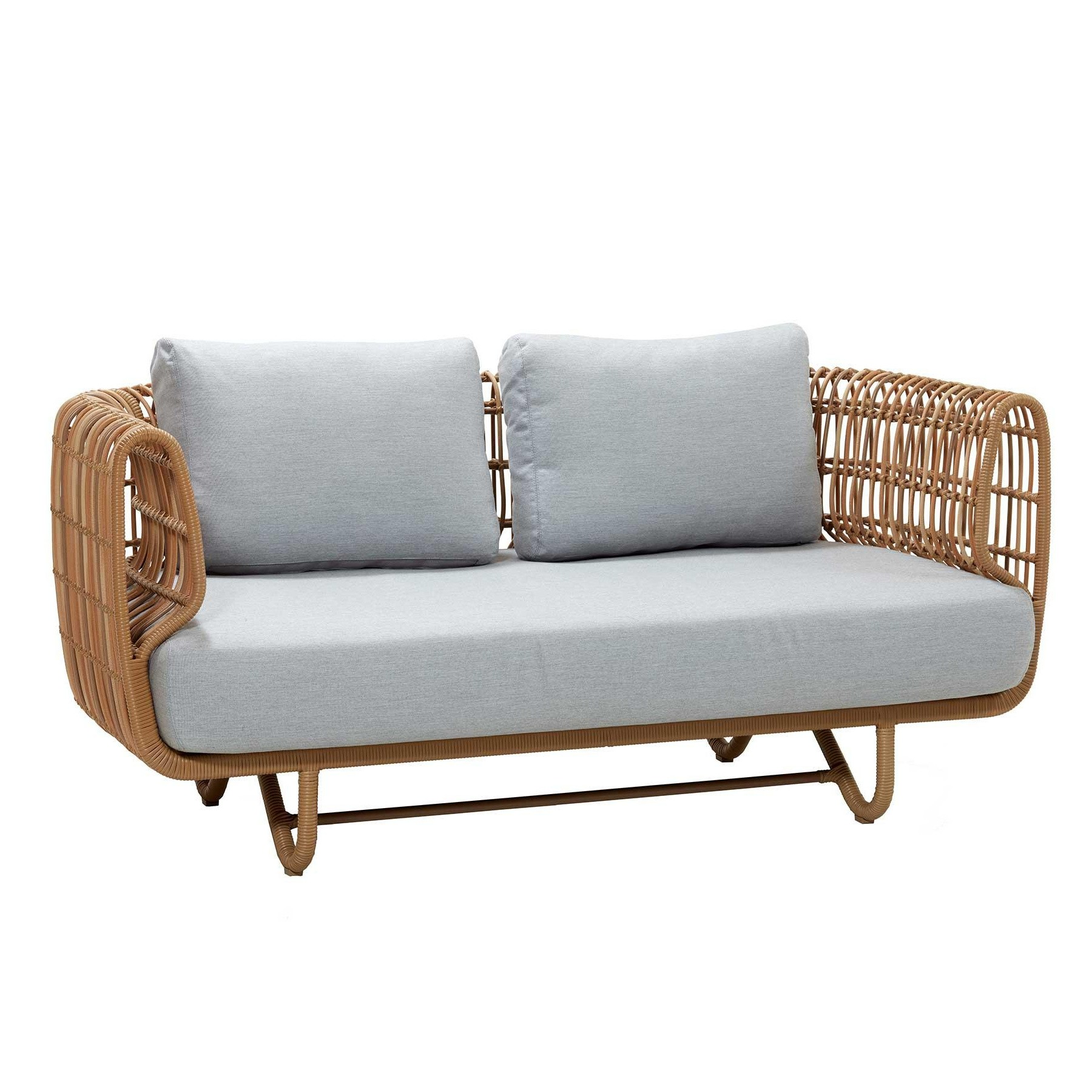 Lounge Sofa 2 Sitzer Outdoor Cane-line Nest Outdoor Sofa 2 Seater | Ambientedirect