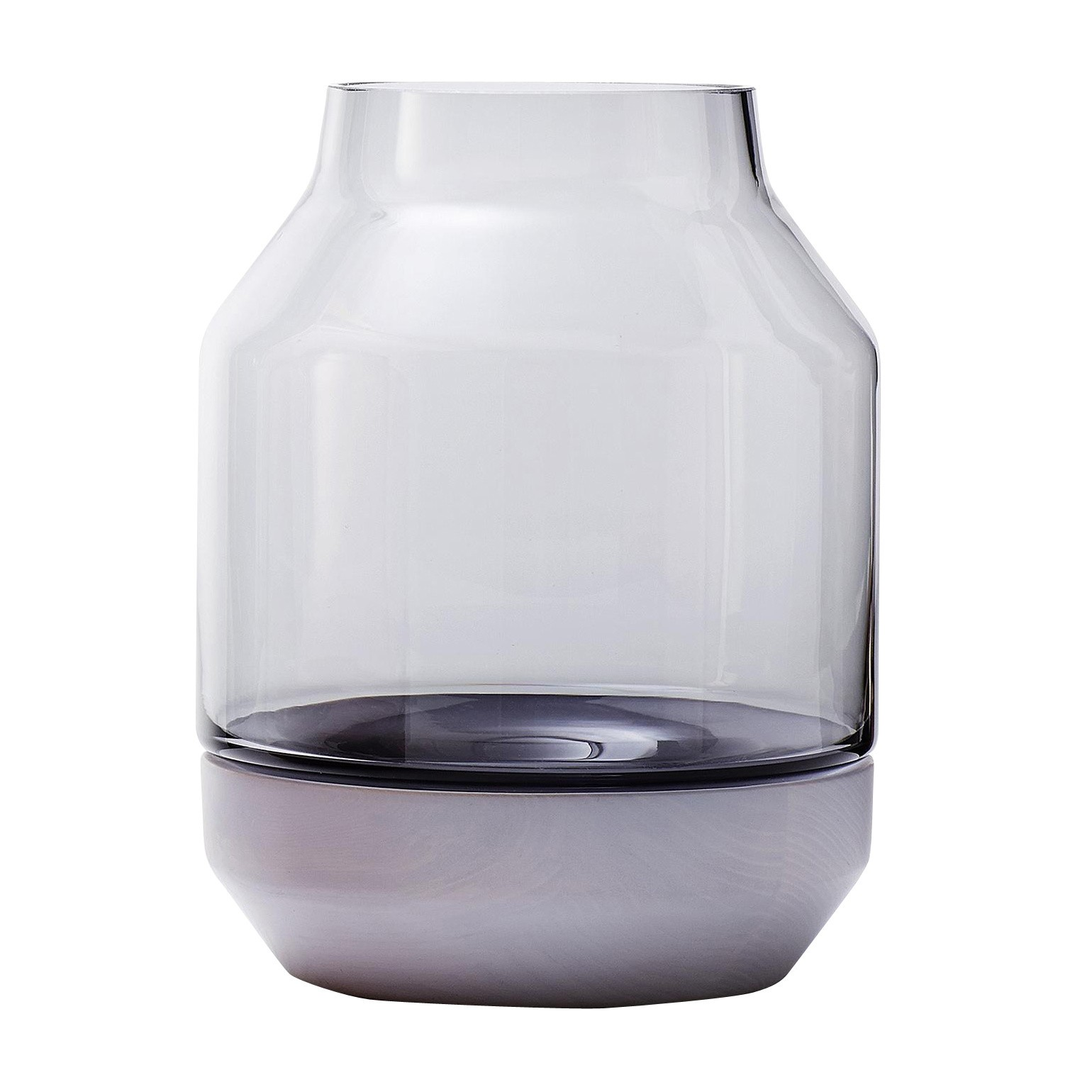 Vase Grau Muuto Elevated Vase