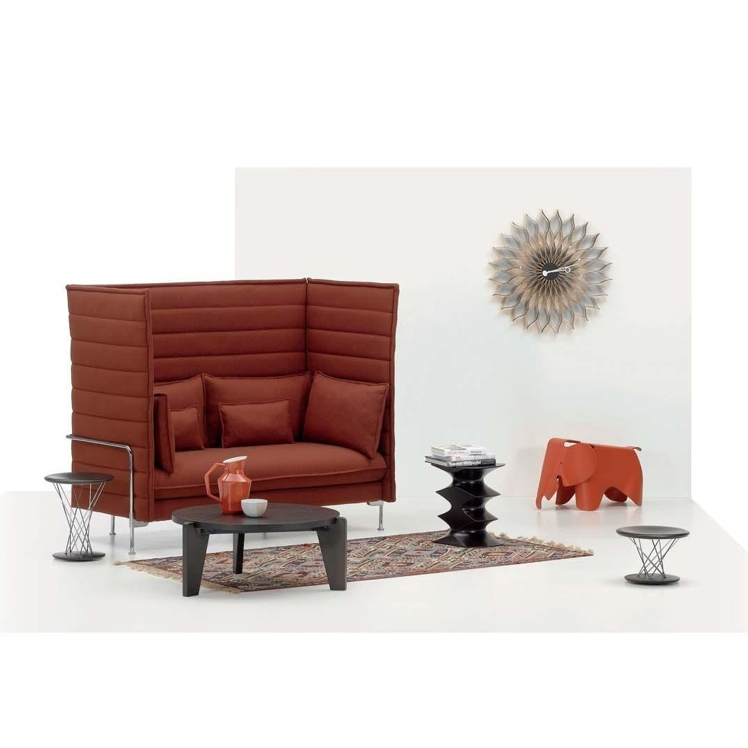 Alcove Highback Sofa Vitra Alcove Highback 2 Sitzer Sofa Ambientedirect