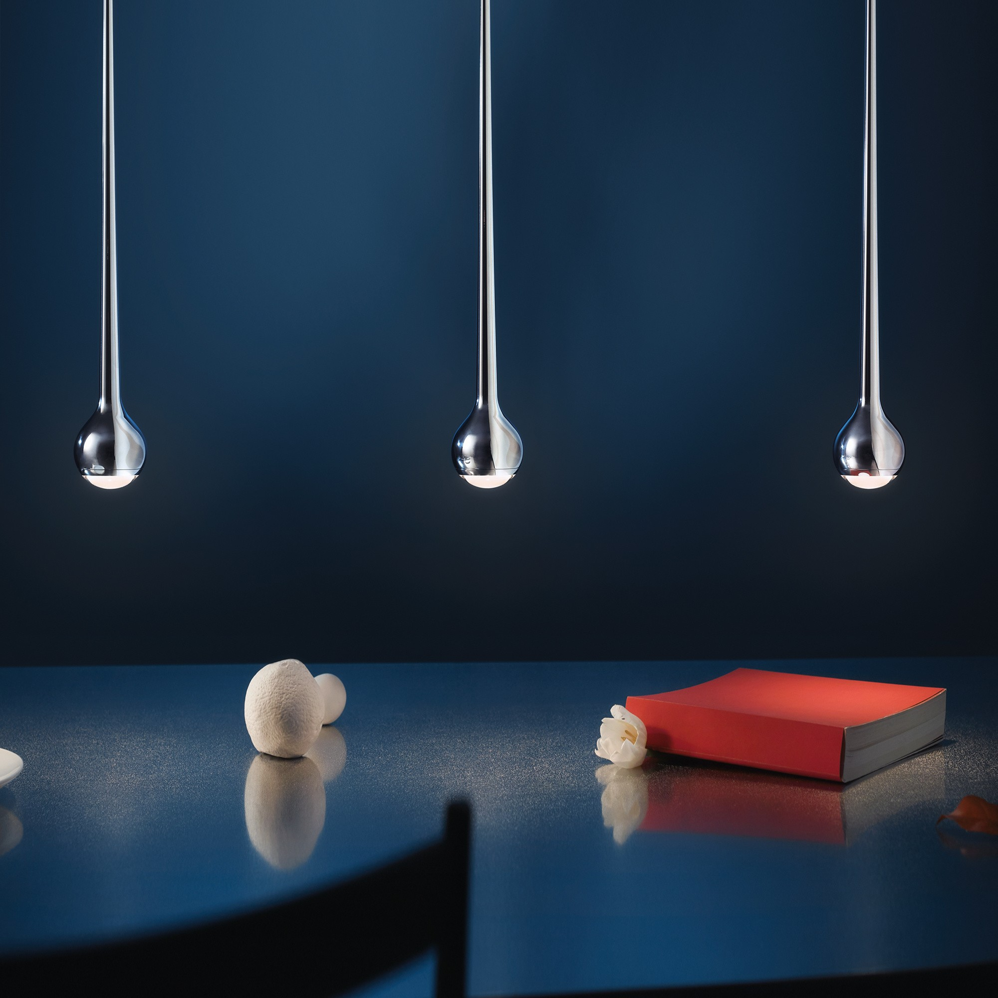 Tobias Grau Falling Trace 3 110 Led Suspension Lamp Ambientedirect