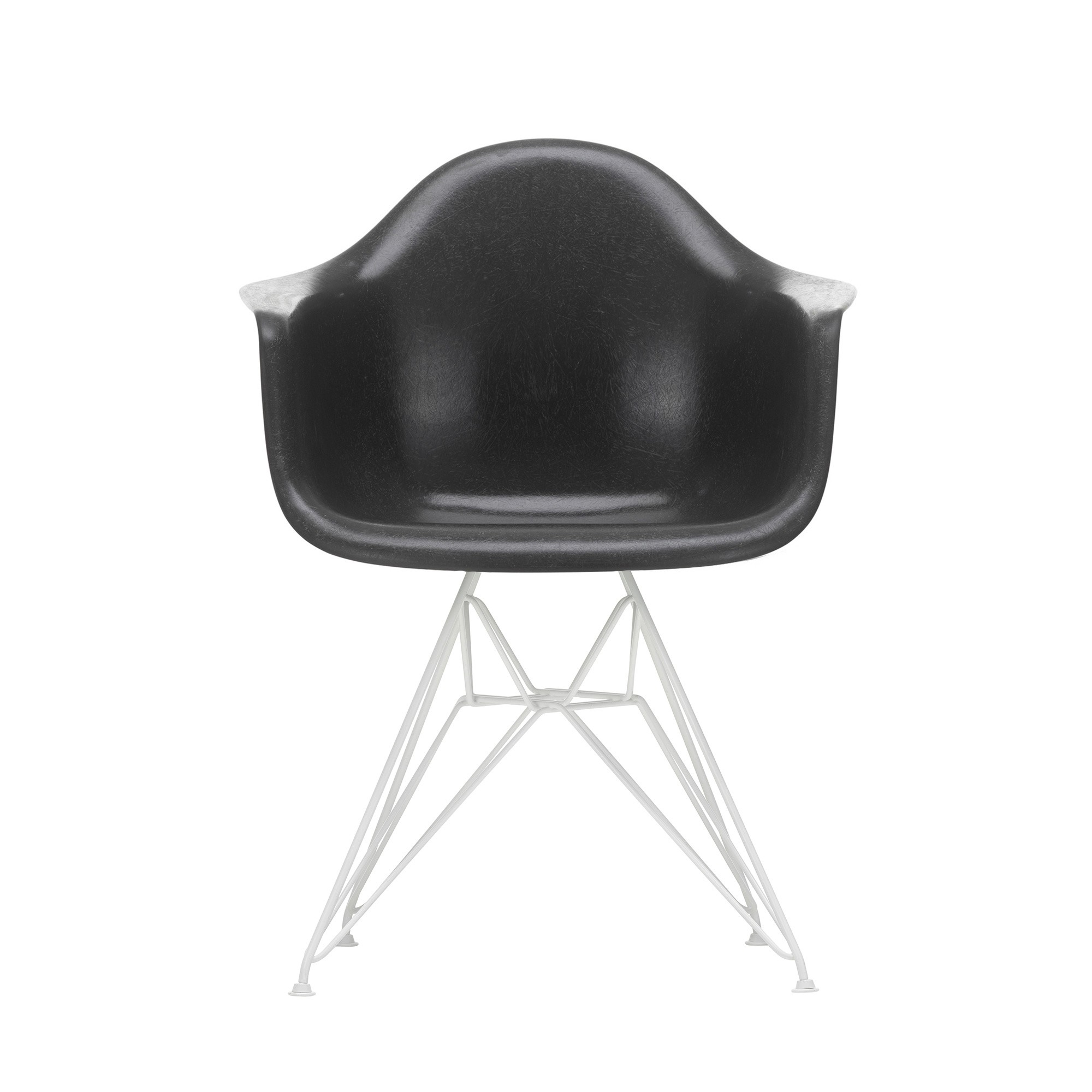 Eames Chair Weiß Vitra Eames Fiberglass Armchair Dar White Base | Ambientedirect