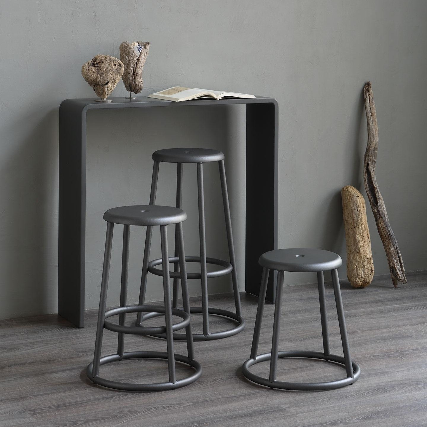 Barhocker Industrial Industrial Bar Stool 64cm