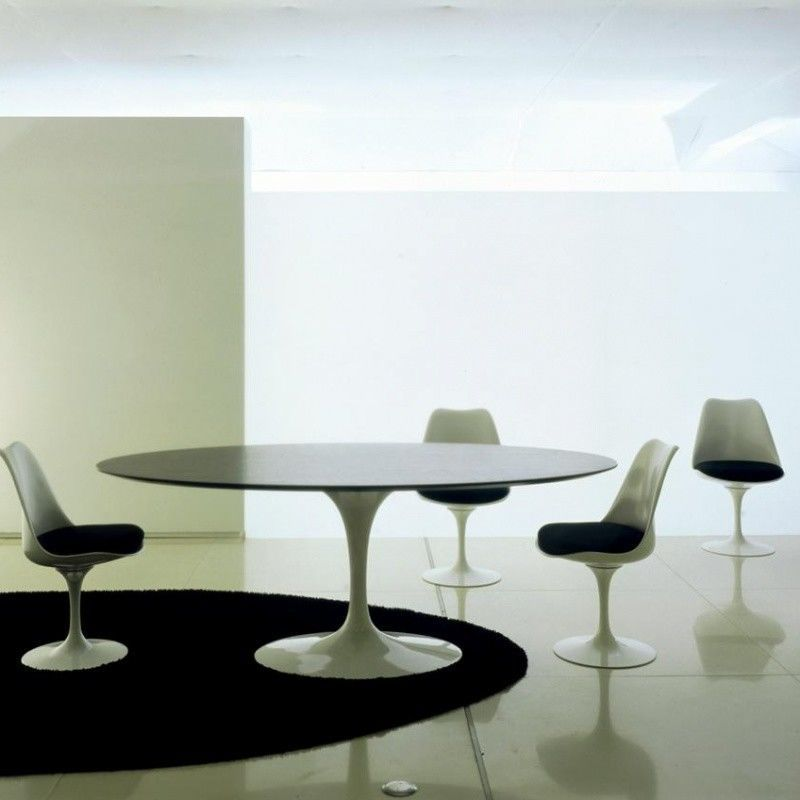 Stuhl Vitra Knoll International Saarinen Tisch Oval | Ambientedirect