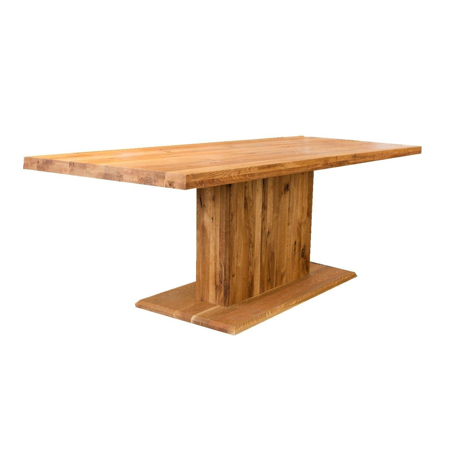 Echtholz Esstisch Eiche Ozelot Dining Table With Central Support