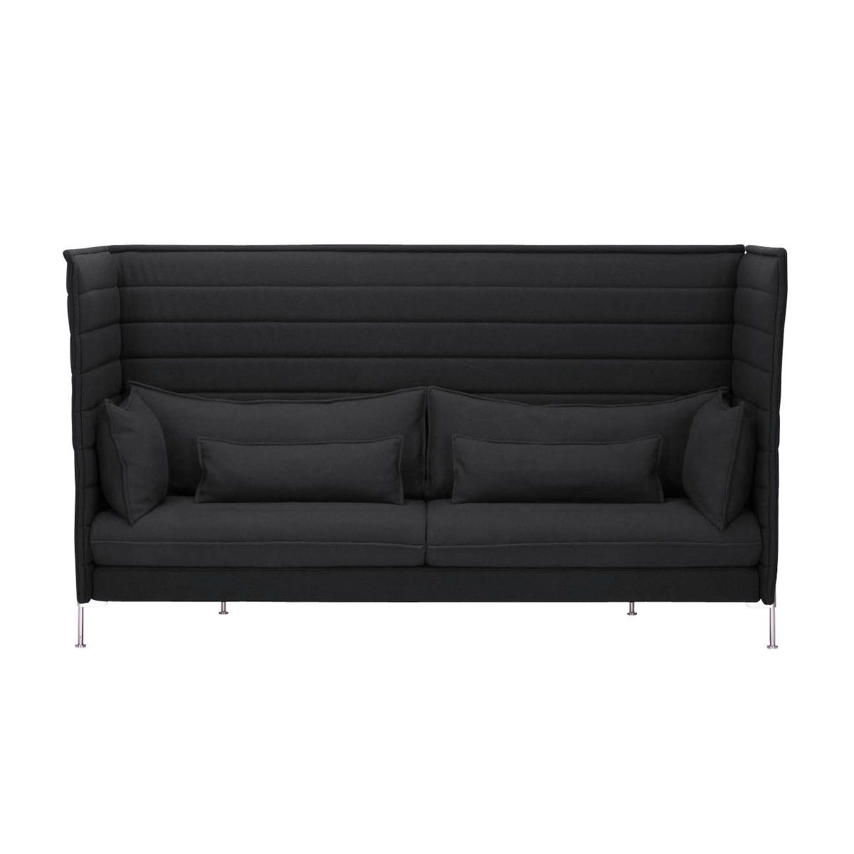 Alcove Highback Sofa Alcove Highback 3 Seater Sofa Vitra Ambientedirect