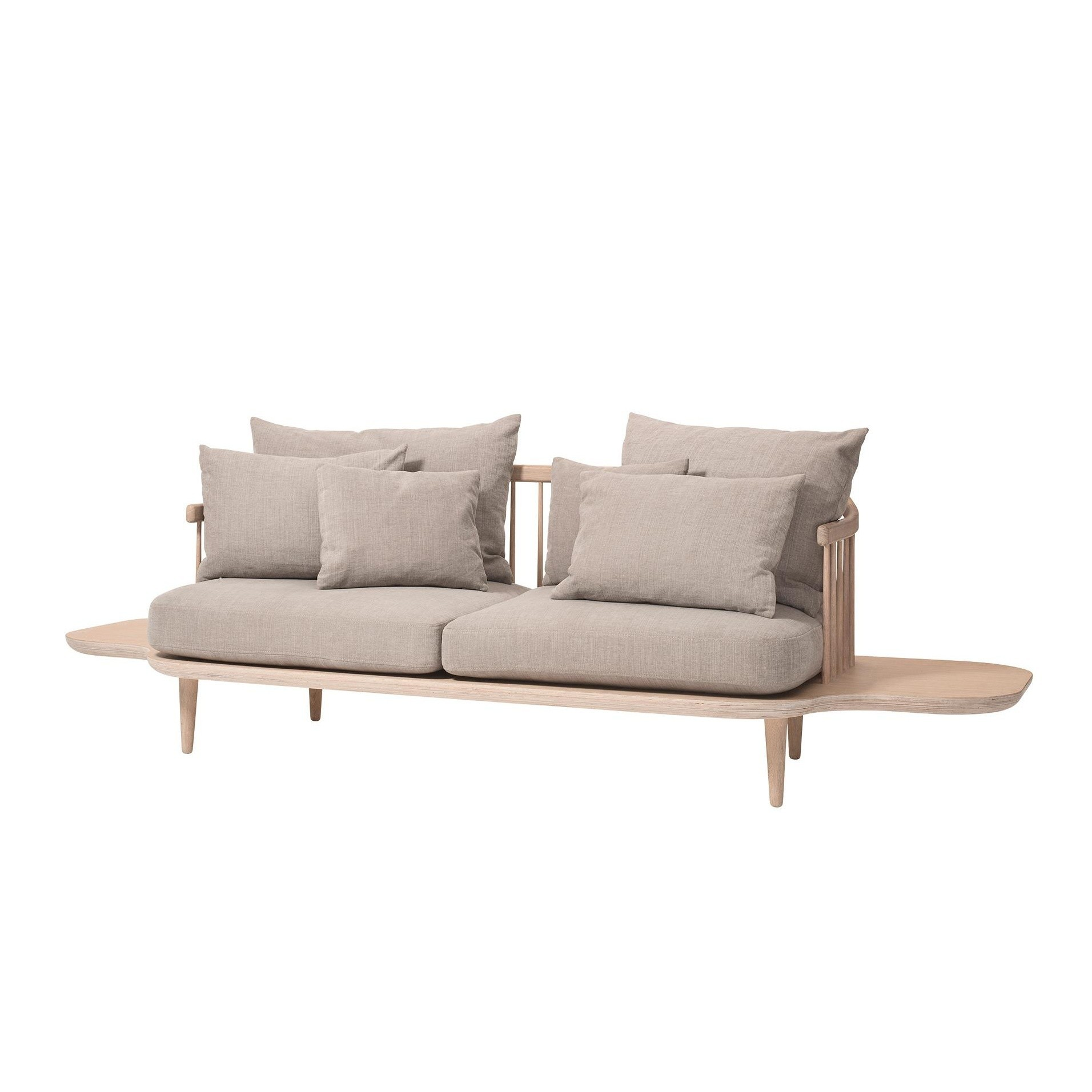 Couchtisch Fabric Fly Sc3 2 Seater Sofa With Side Tables