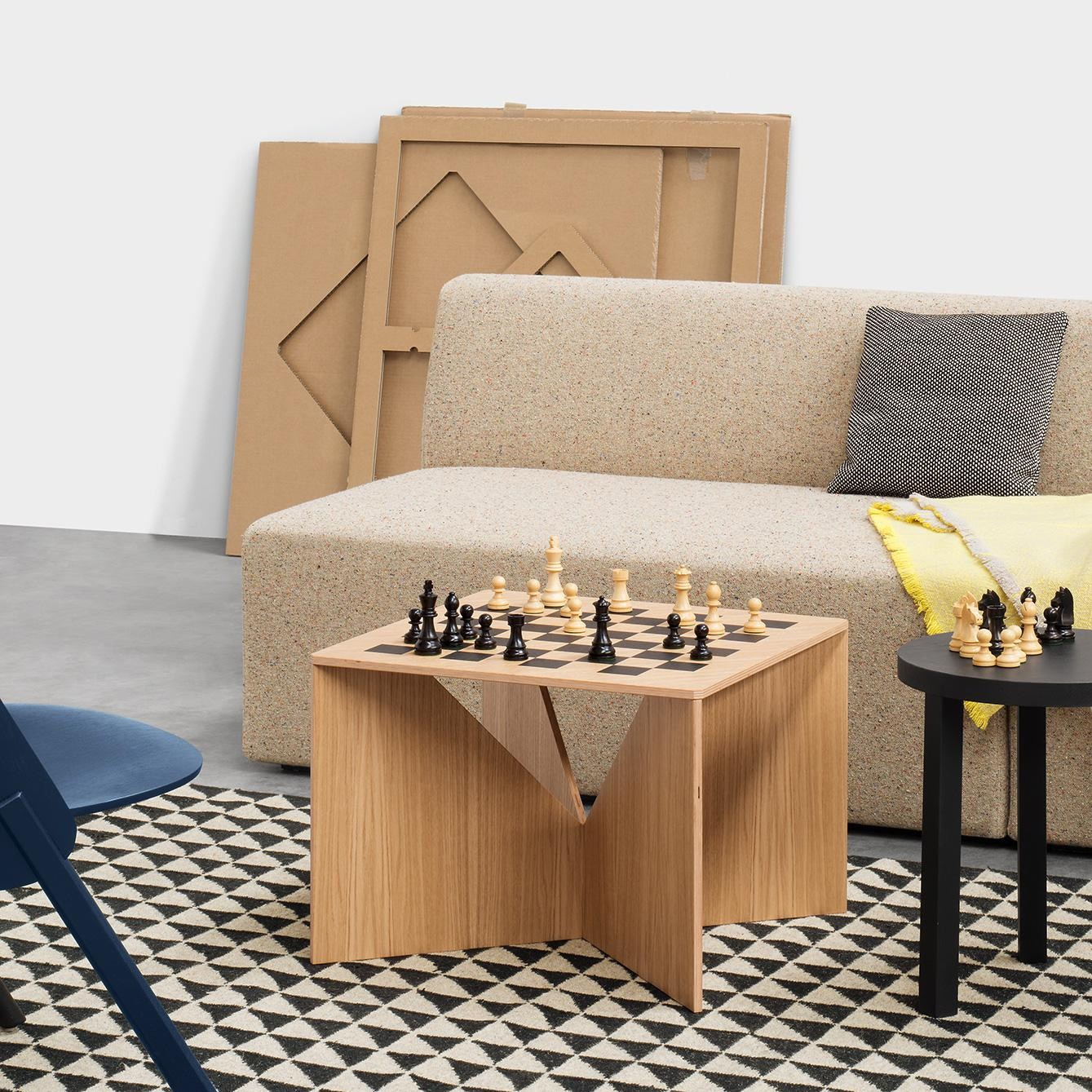 Couchtisch Ohio Calvert Chess Side Table