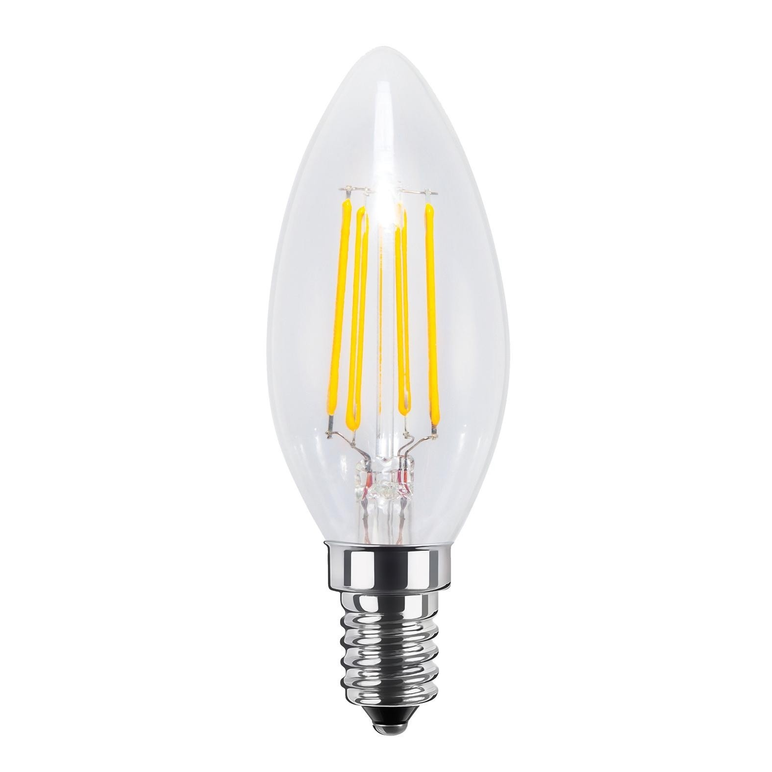 Led Dimmbar E14 Led E14 Candle Filament Clear 4w 33w