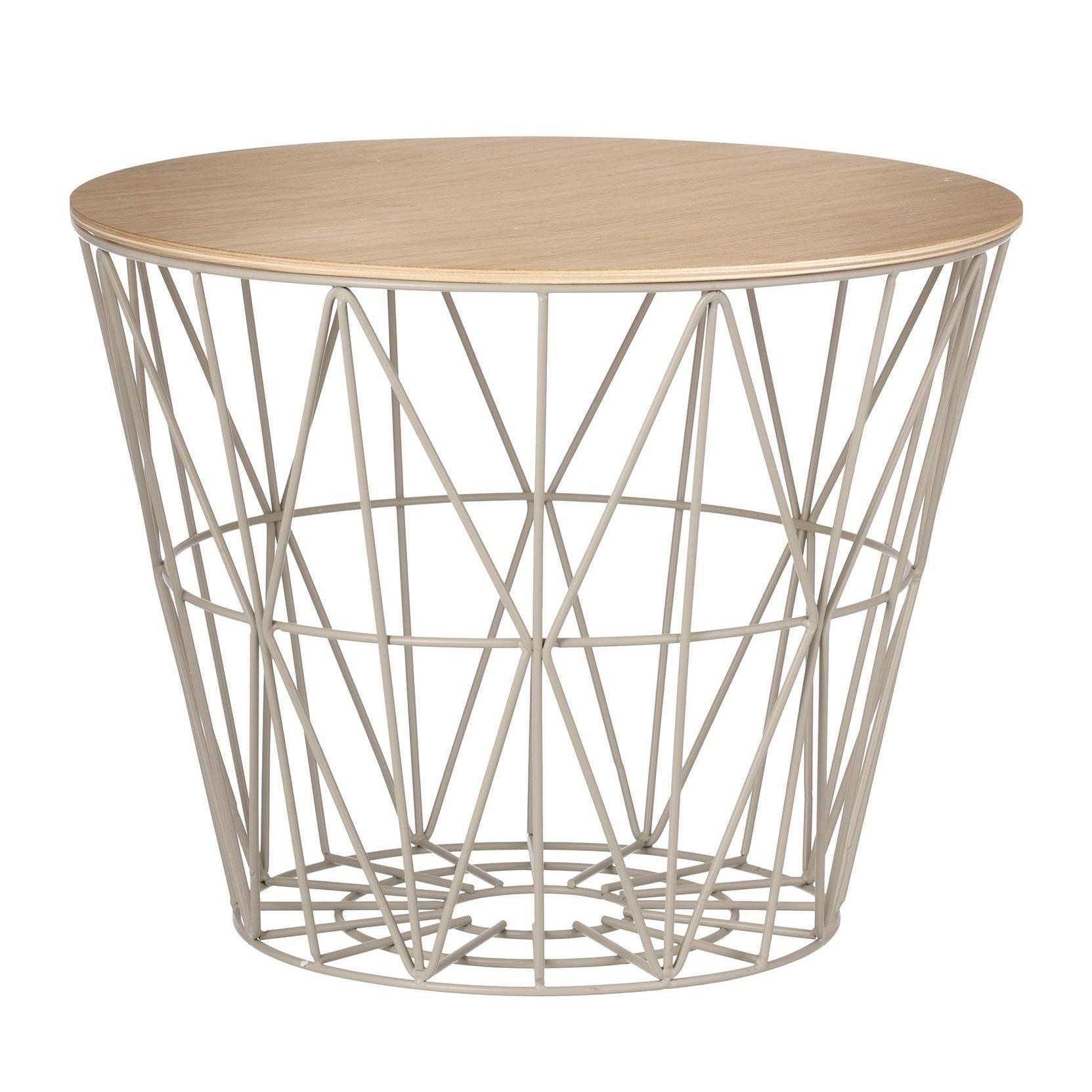 Ferm Living Wire Basket Top Ambientedirect