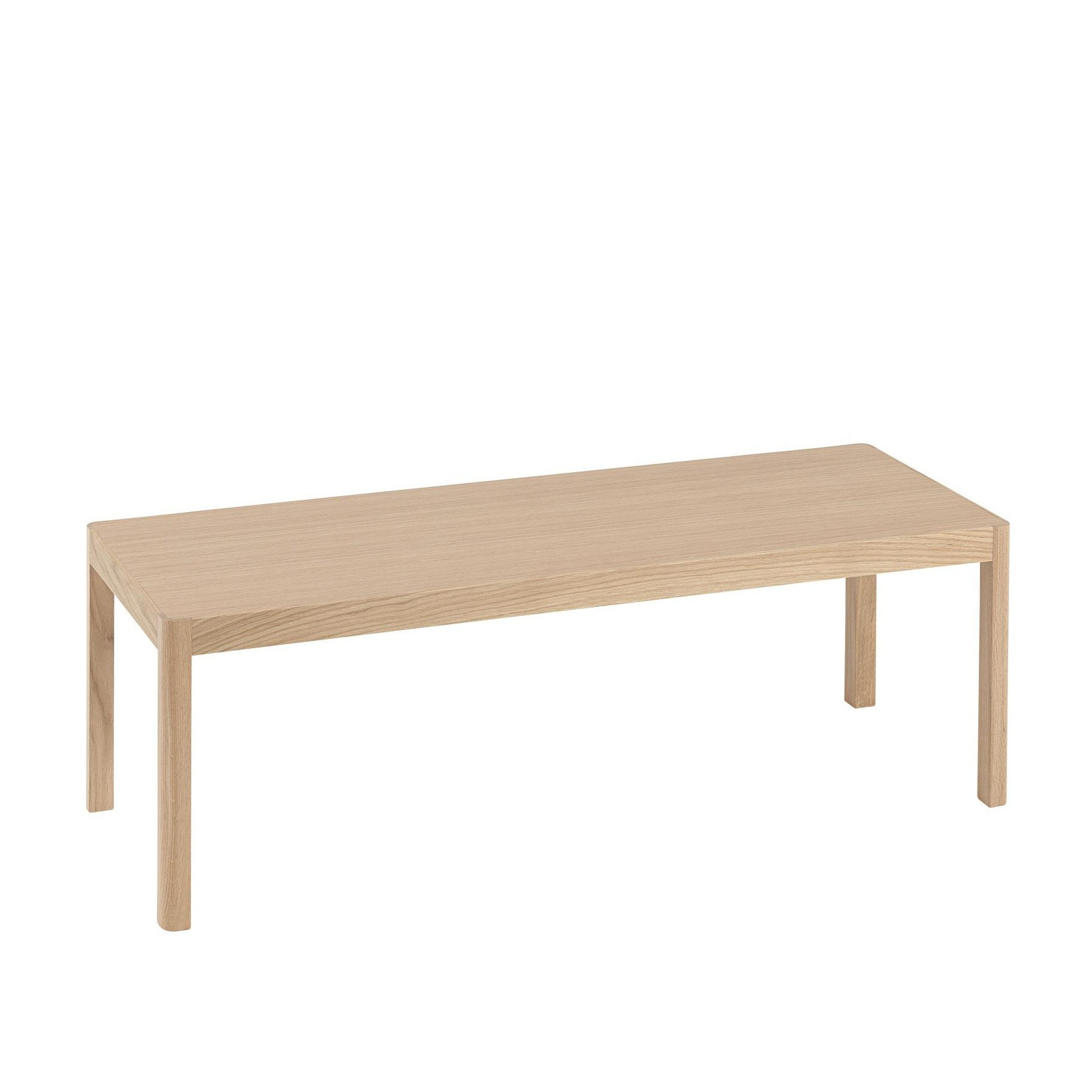Couchtisch Montain Oak Muuto Workshop Coffee Table